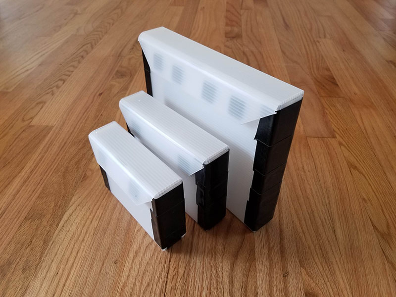 DIY Wet Panel Carriers in three sizes
